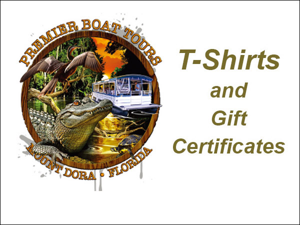 T-shirts and Gift Certificates